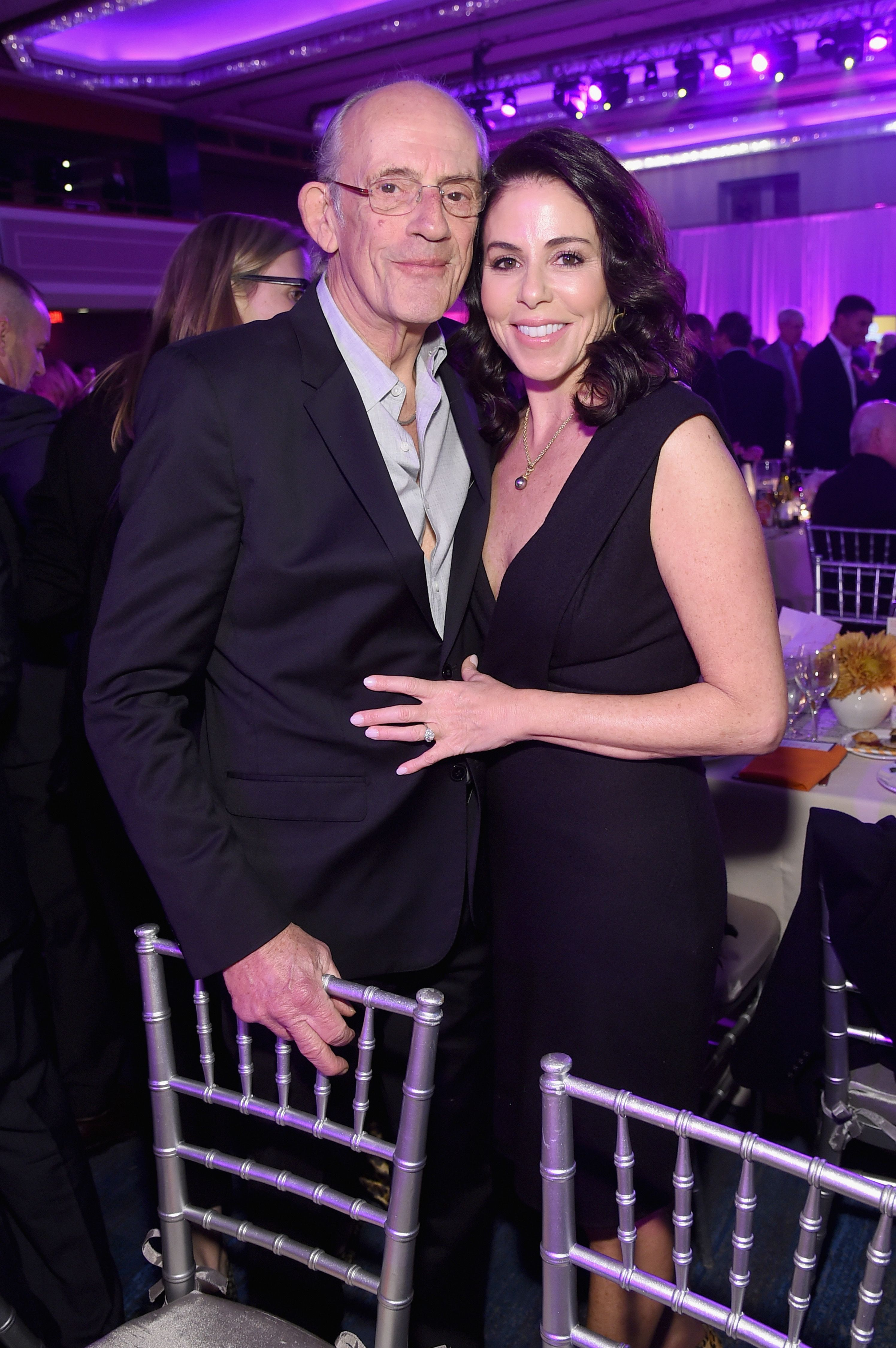 Christopher Lloyd and wife Lisa Lloyd at a benefit for The Michael J. Fox Foundation in 2018 in New York | Source: Getty Images