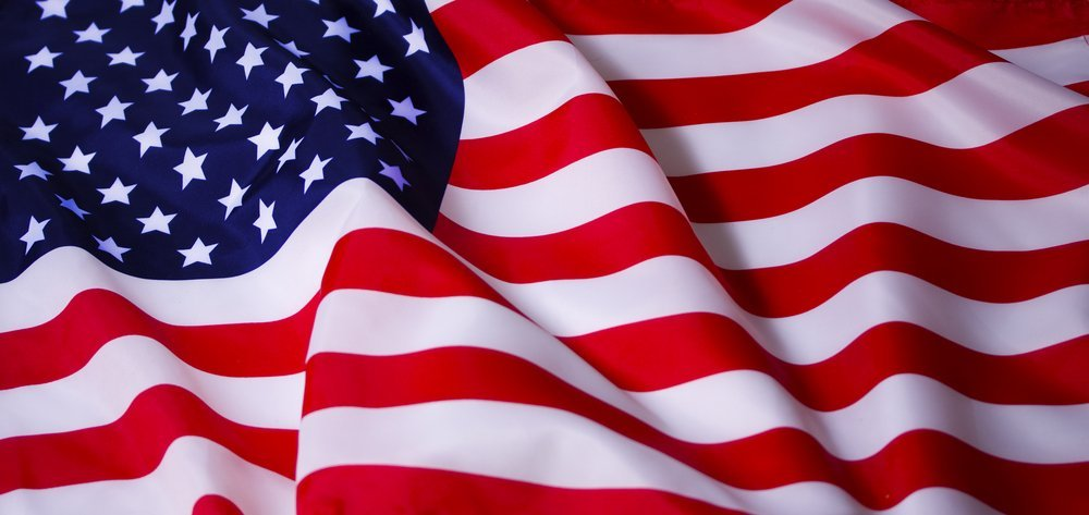 Beautifully waving star and striped American flag | Photo: Shutterstock