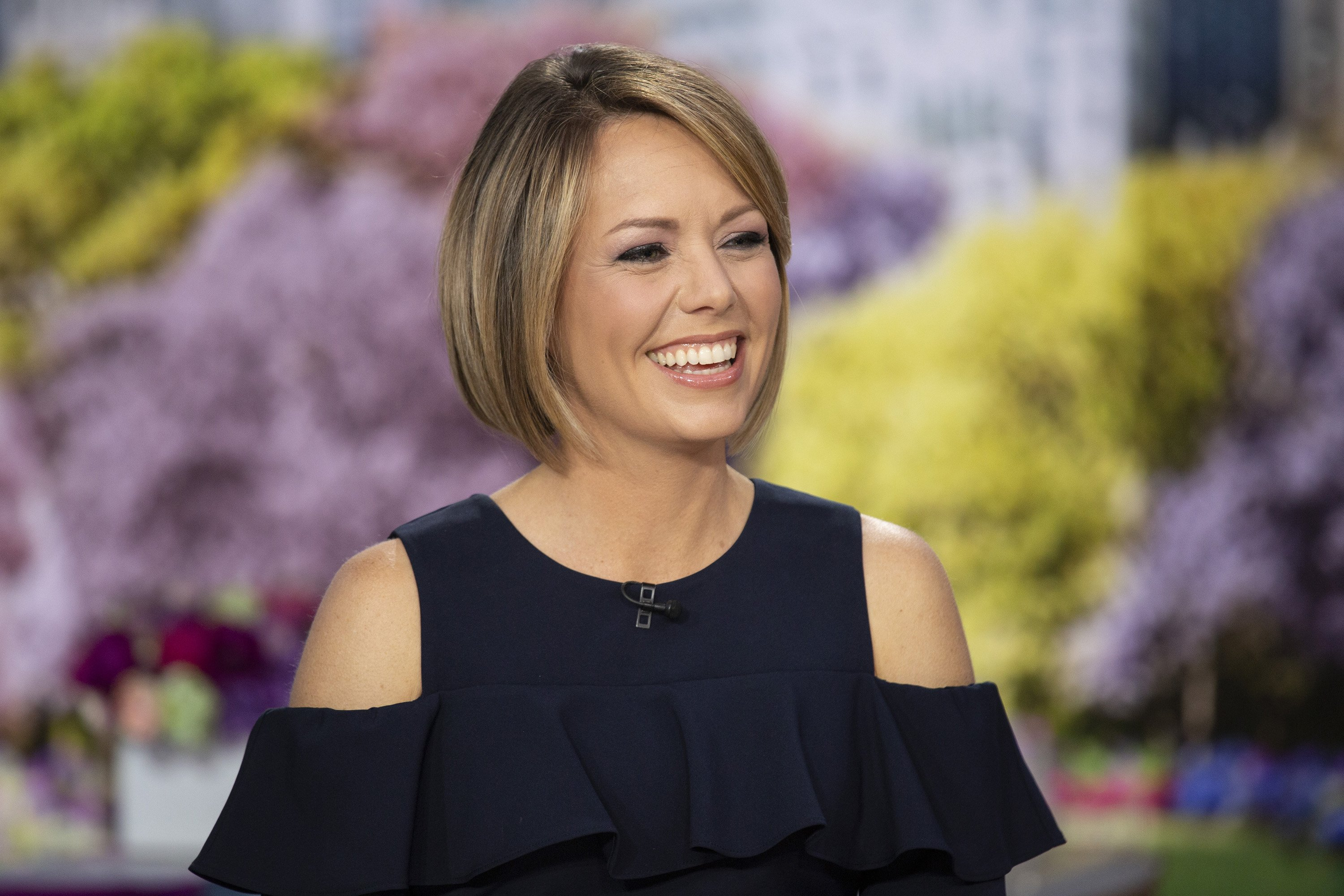 """Dylan Dreyer pictured on the """"TODAY"""" show on Tuesday May 14, 2019. 