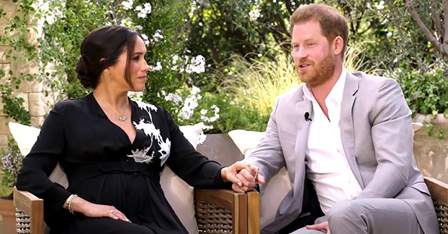 Pregnant Meghan Markle Wears Princess Diana's Diamond Bracelet during Her Interview with Oprah