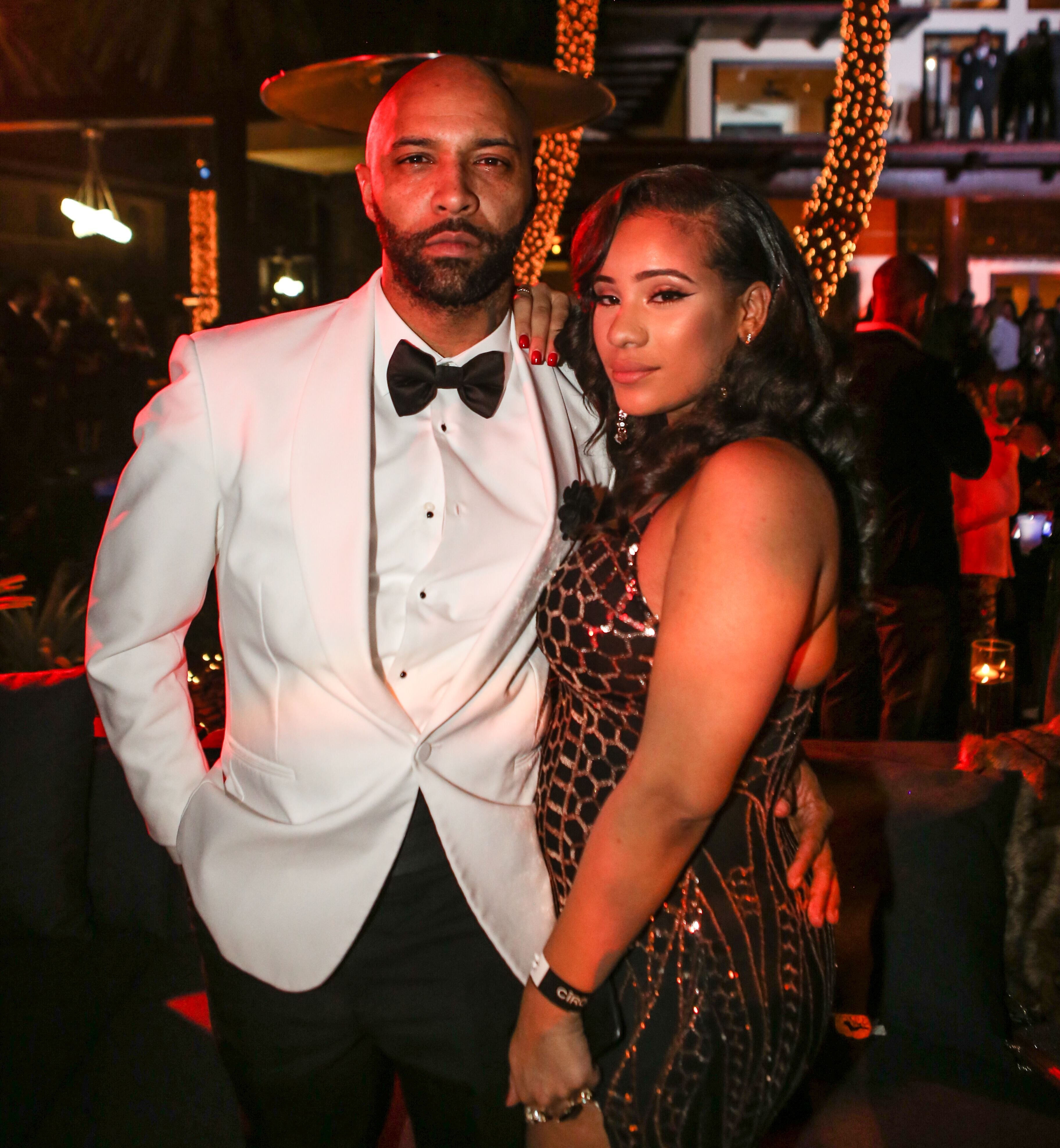 Joe Budden and Cyn Santana attend Sean 'Diddy' Combs Hosts CIROC The New Year 2018 Powered By Deleon Tequila at Star Island on December 31, 2017 in Miami, Florida. | Photo: Getty Images