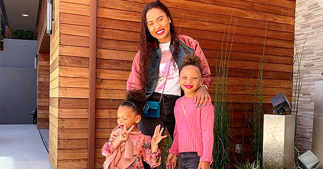 'Proud Mama' Ayesha Curry & Her Daughters Dress up in Pink for Girls Night