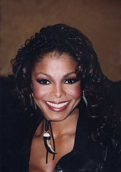 Janet Jackson N.A.B.O.B March 8, 2002. | Source: Getty Images