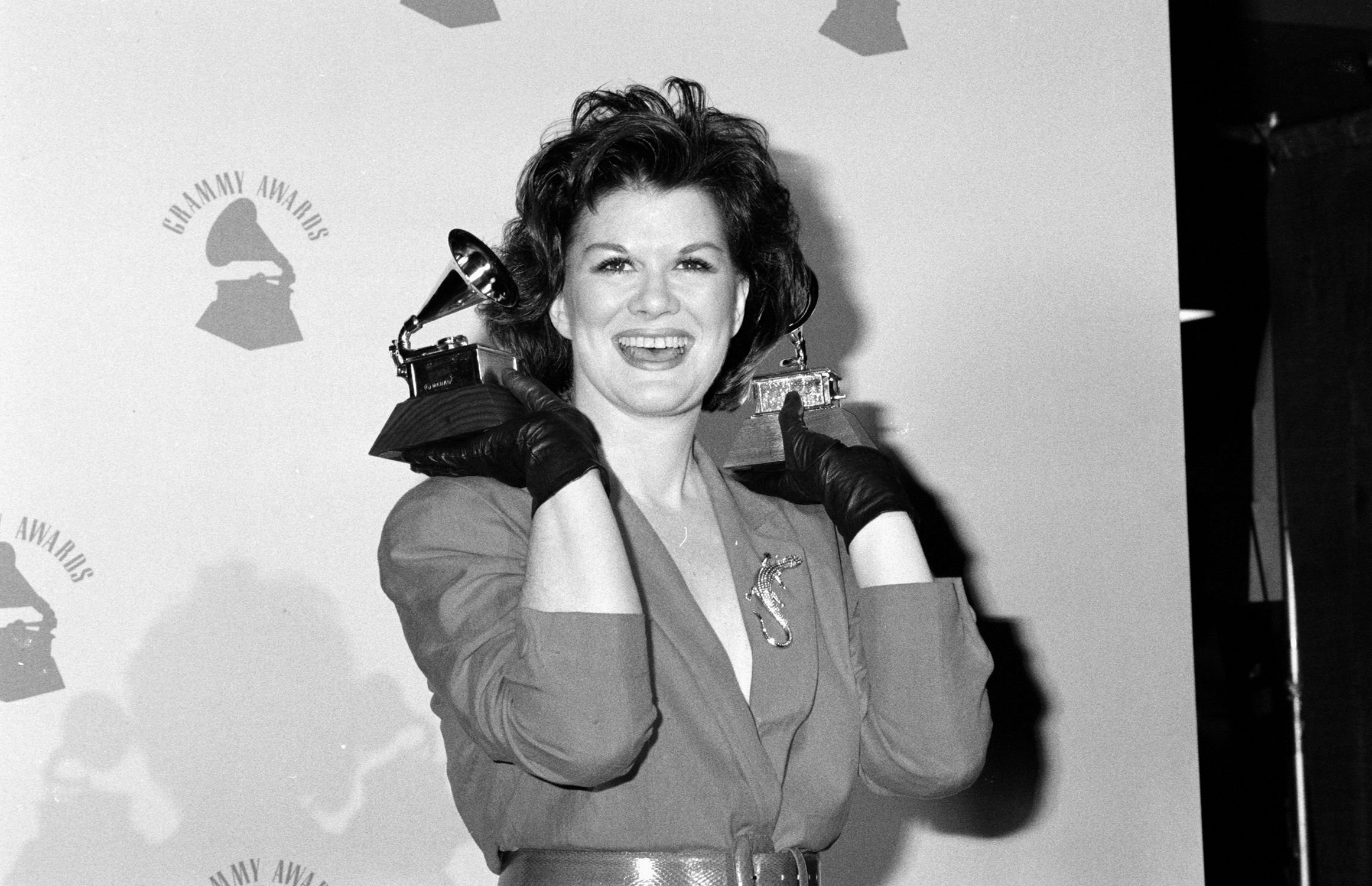 K.T. Oslin won Best Country Song and Best Female Country Vocal Performance at the 1989 Grammys   Source: Getty Images