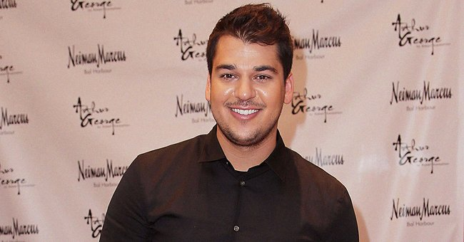 Rob Kardashian Proves He's His Daughter's Twin in This Denim Outfit from a Childhood Photo