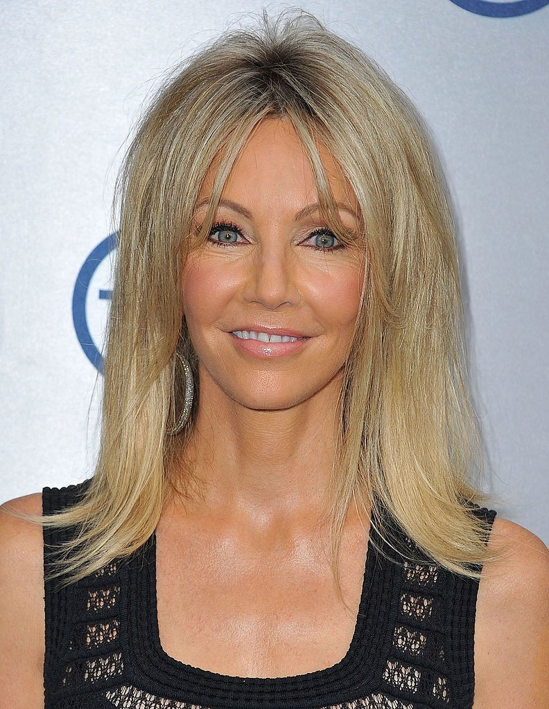 Actress Heather Locklear attends TNT's 25th Anniversary Party at The Beverly Hilton Hotel | Photo: Getty Images