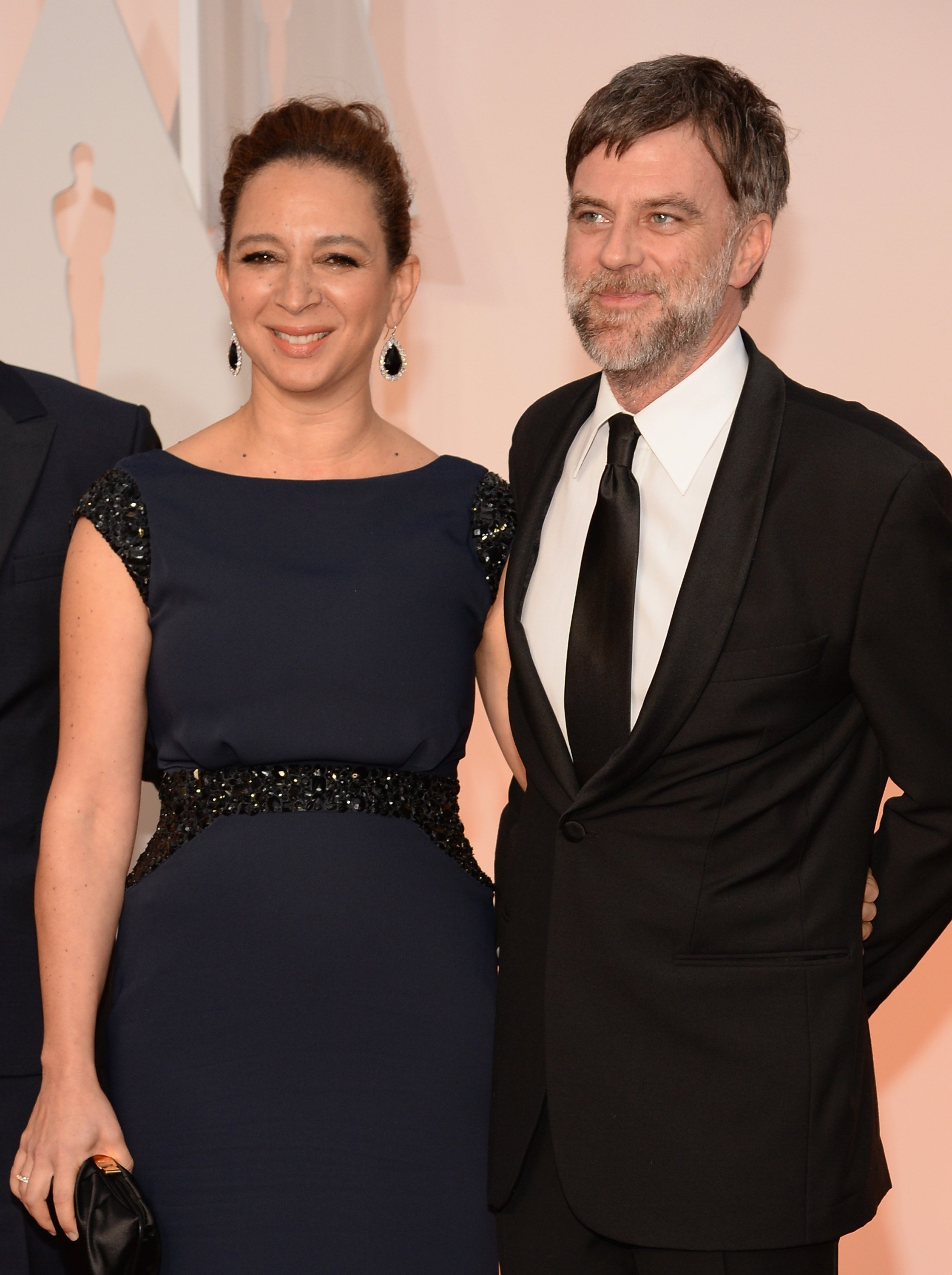 Maya Rudolph and Paul Thomas Anderson at the 87th Annual Academy Awards on February 22, 2015 in Hollywood, California   Photo: Getty Images