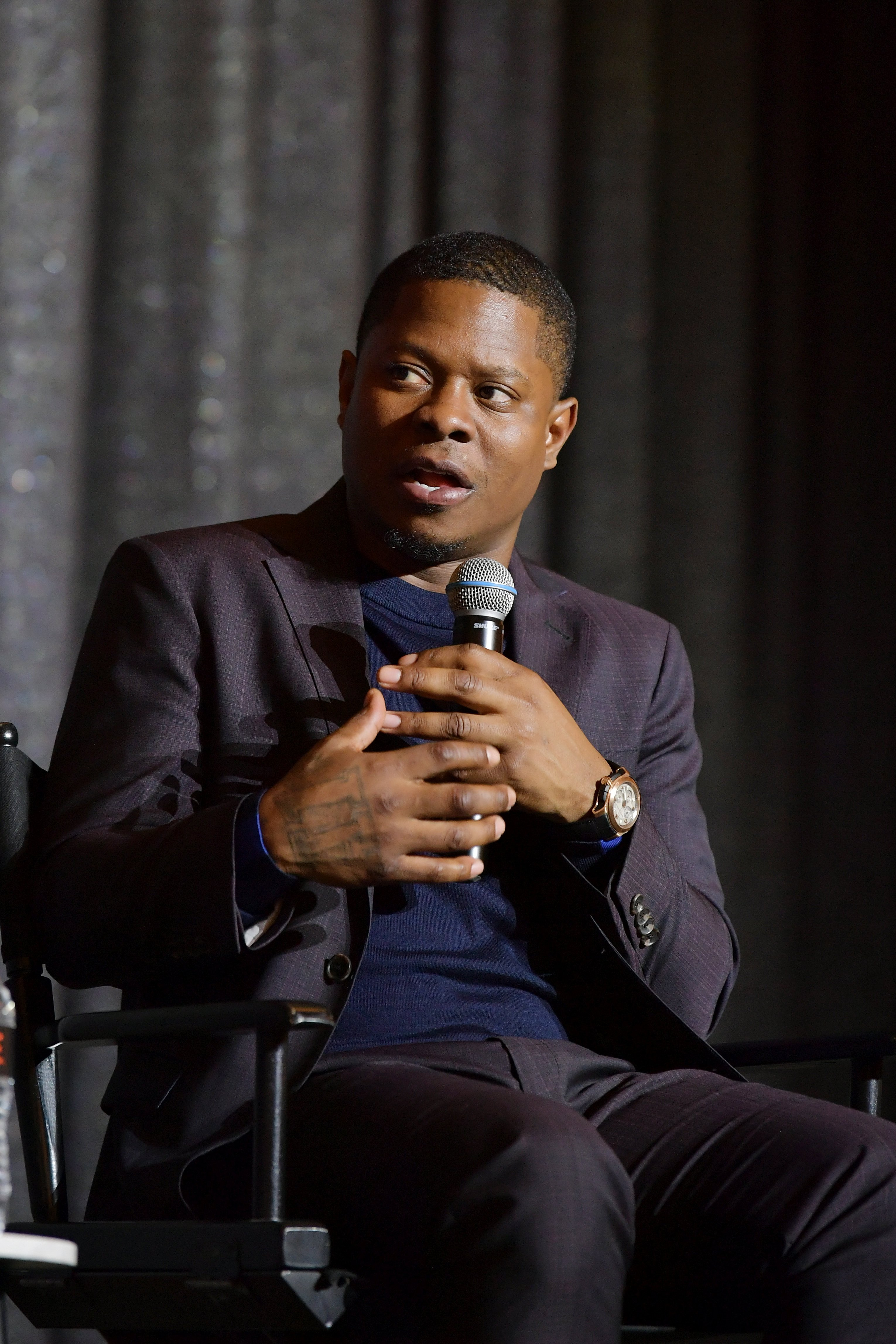 """Jason Mitchell attends Showtime's """"The Chi"""" For Your Consideration event on April 10, 2019. 