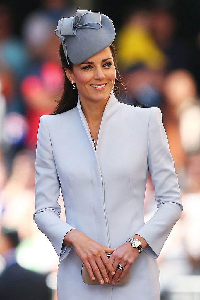 Catherine, Duchess of Cambridge arrives at St Andrew's Cathedral for Easter Sunday Service on April 20, 2014 in Sydney, Australia   Photo: Getty Images