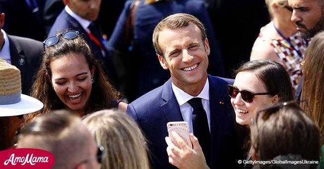 Emmanuel Macron se rapproche de la population: il déjeune dans un restaurant avec son équipe