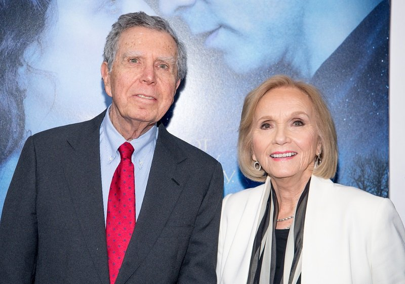 Jeffrey Hayden and Eva Marie Saint on February 11, 2014 in New York City   Photo: Getty Images