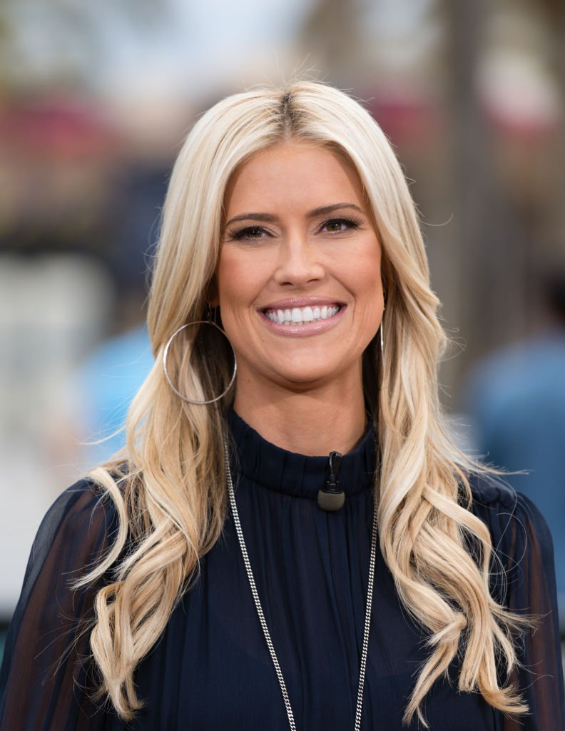 "Christina Anstead visits ""Extra"" at Universal Studios Hollywood in Universal City, California 