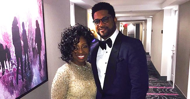 Gladys Knight's Husband William Gushes over Her as She Dons a Stunning Blue Costume (Photo)