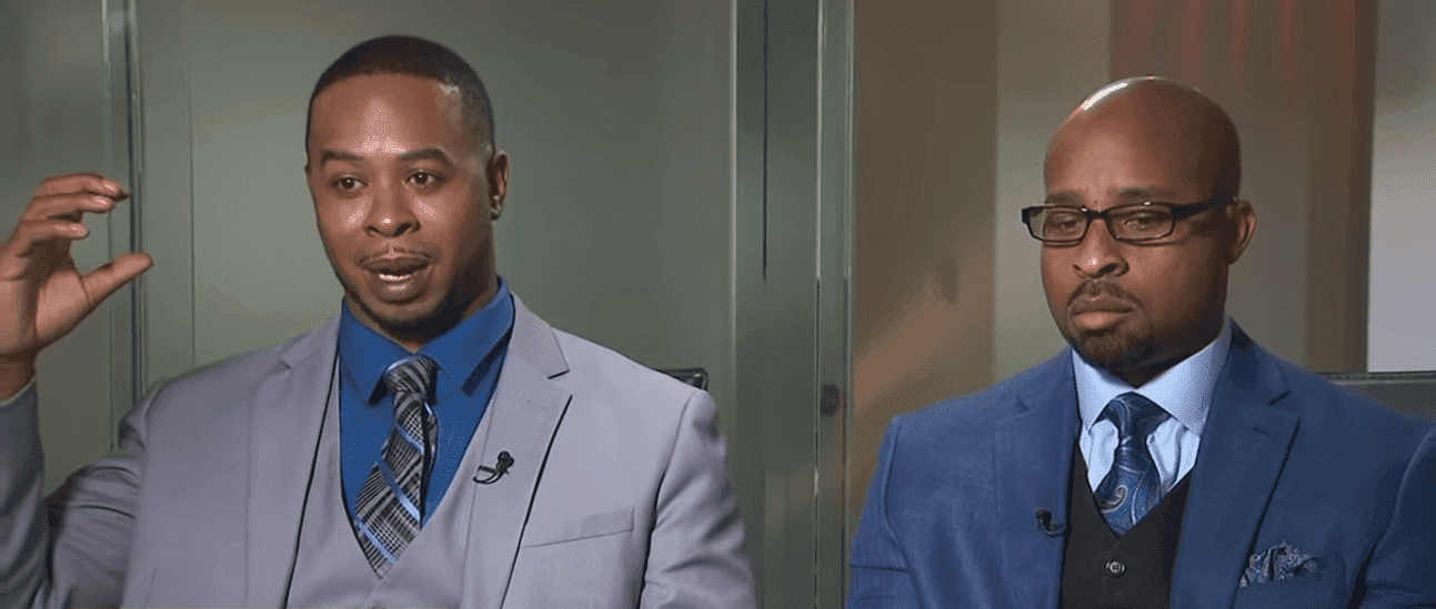 Marcus Boyd and Derrick Brooks are asking for compesation for their suffering in their lawsuit against GM. | Photo: YouTube/CNN