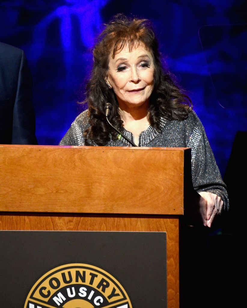 Loretta Lynn speaks onstage during the Country Music Hall of Fame and Museum Medallion Ceremony | Getty Images