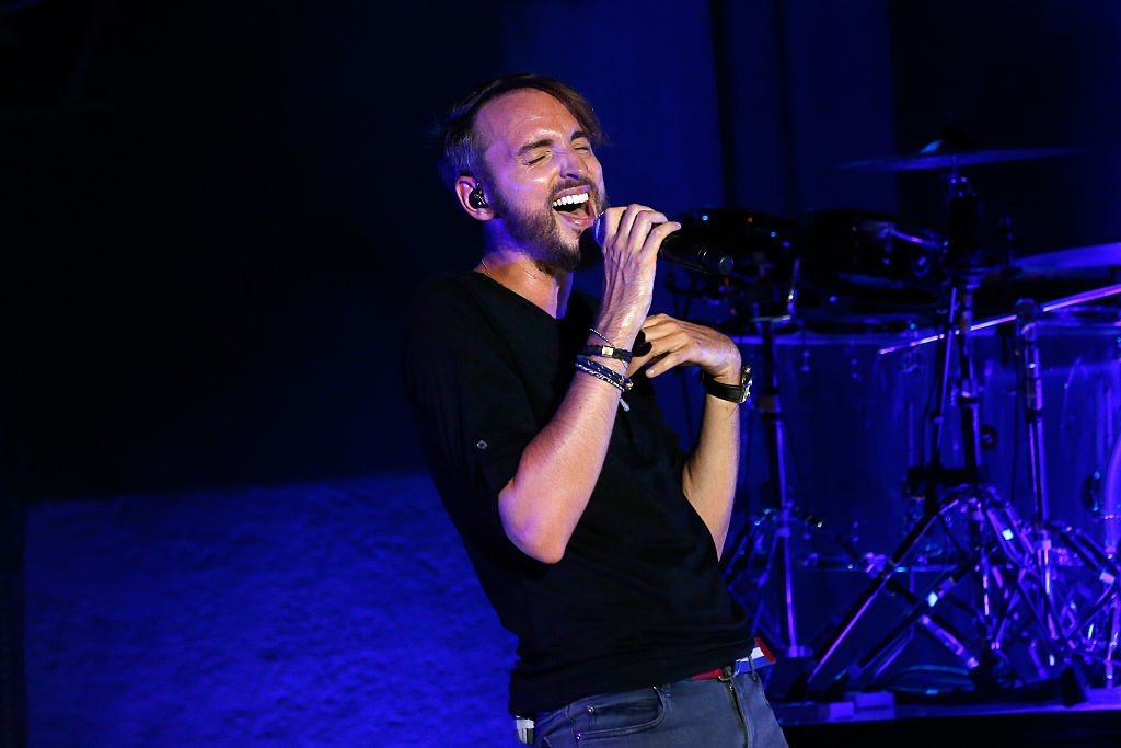 Christophe Willem en concert / Source : Getty Images