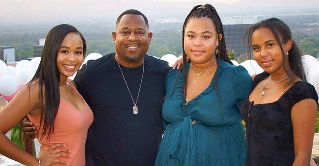 Martin Lawrence with his three daughters.   Photo: Instagram/Martinlawrence