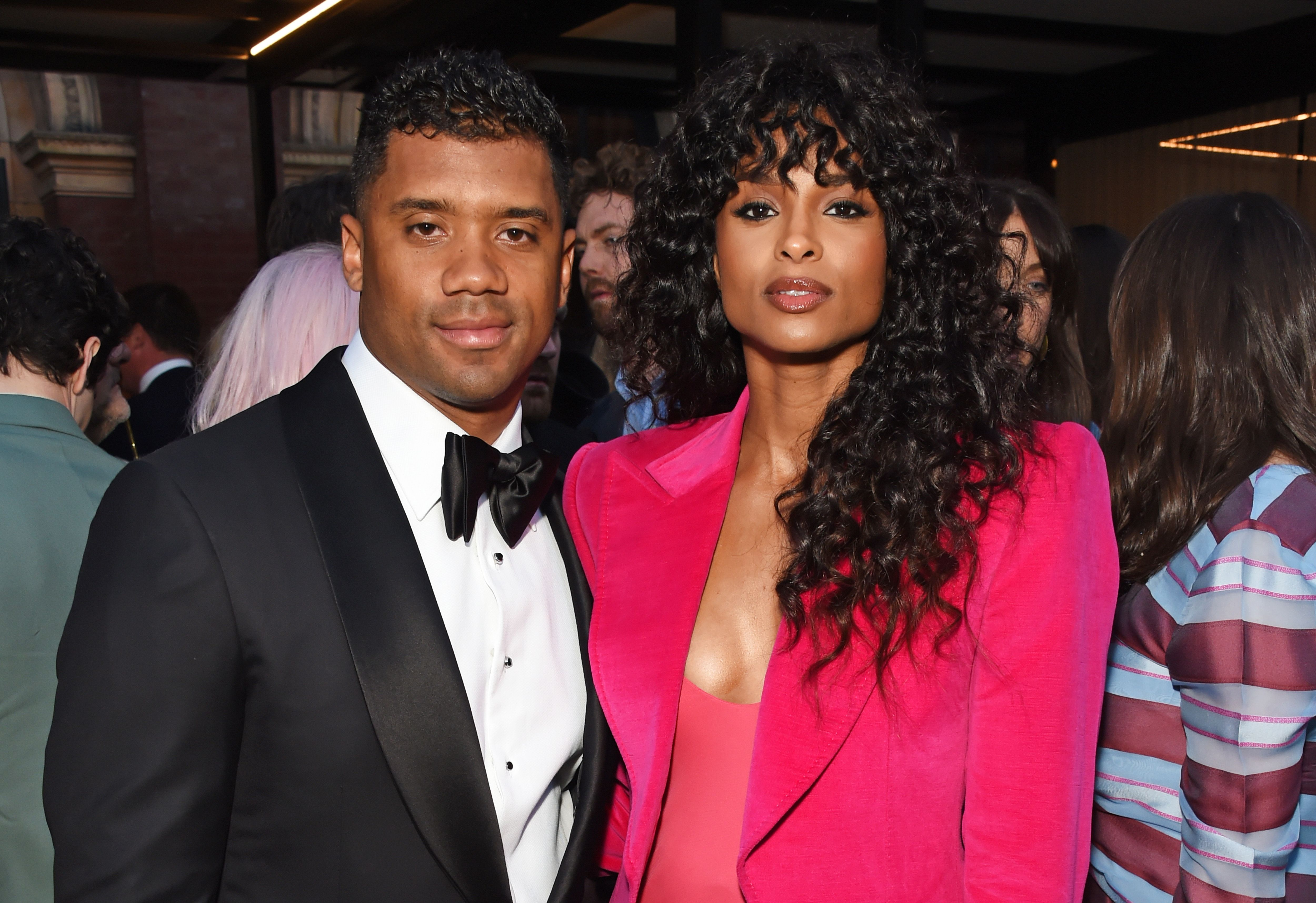 Russell Wilson and Ciara at the Summer Party at the V&A in partnership with Harrods at the Victoria and Albert Museum on June 20, 2018 | Photo: Getty Images