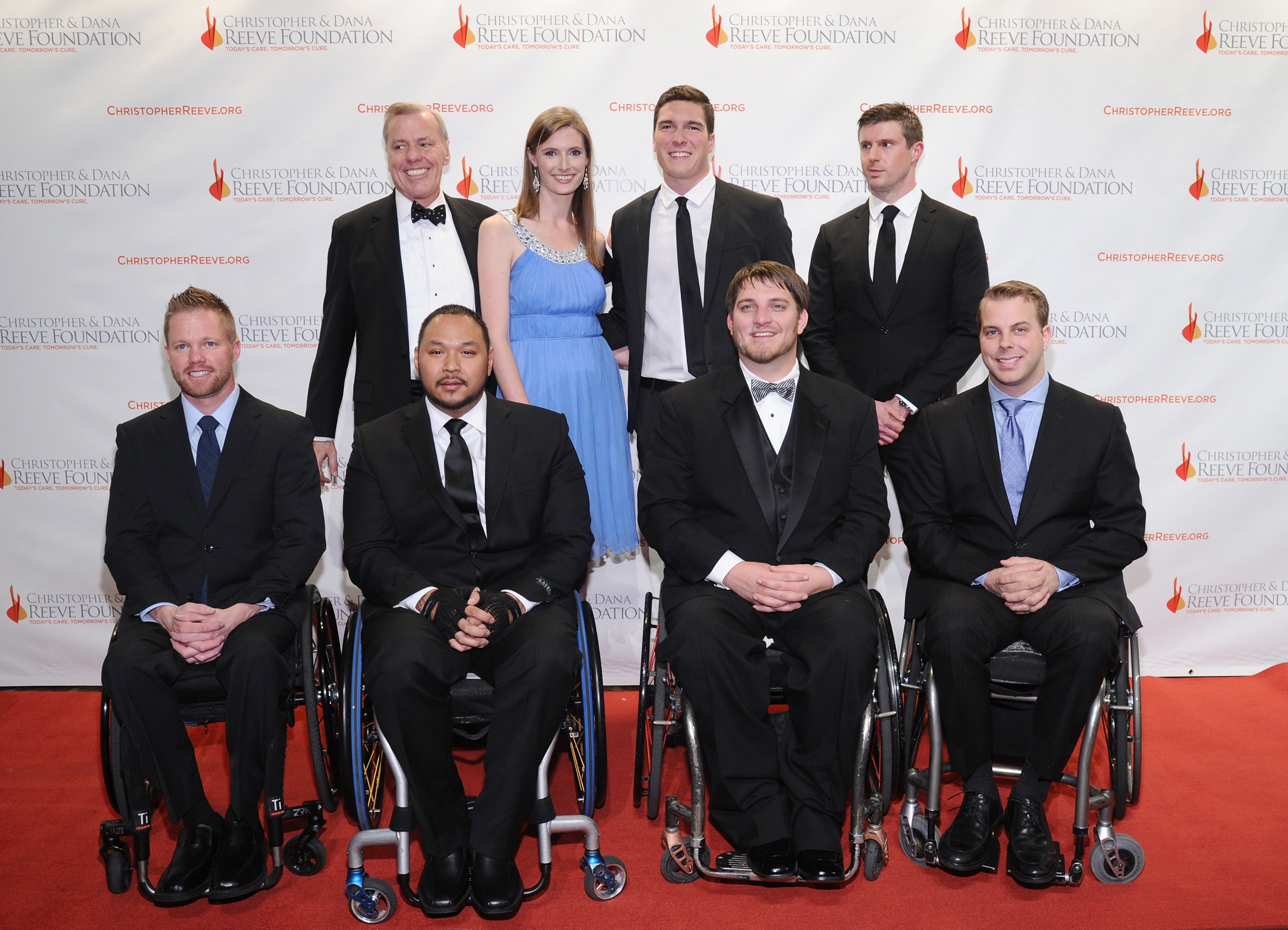 Attendees at Chris Reeve Foundation event in New York, 2014  | Photo: Getty Images
