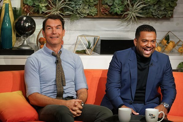 "Jerry O'Connell and Alfonso Rib visits BuzzFeed's ""AM To DM"" to discuss 'Love at First Bite'  in New York City.  