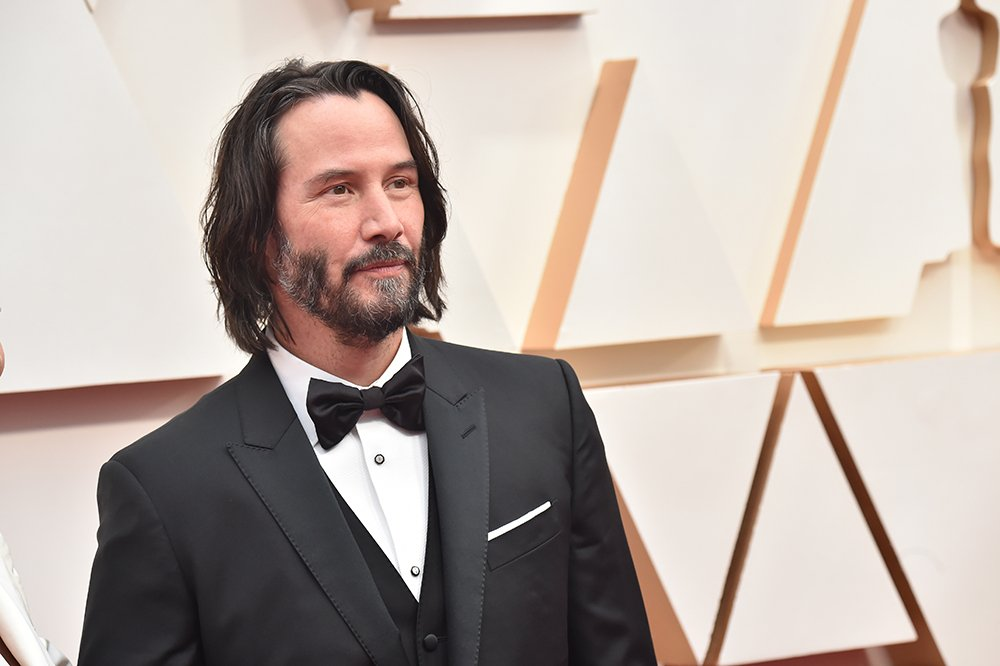 Keanu Reeves attending the 92nd Annual Academy Awards  in Hollywood, California, in February 2020   Image: Getty Images.