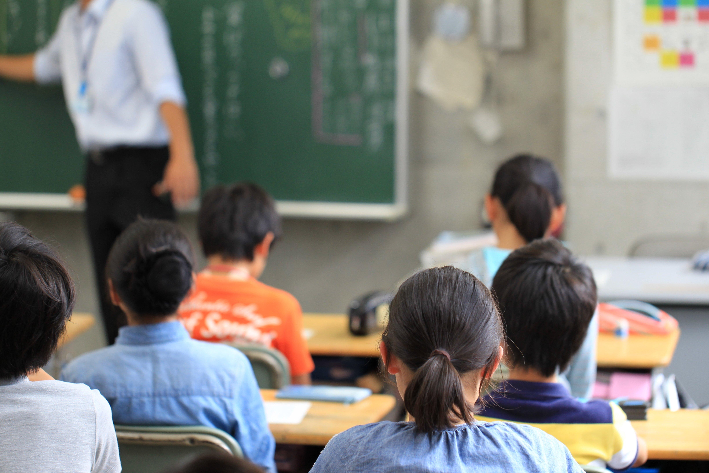 Niños en la escuela. Fuente: Shutterstock