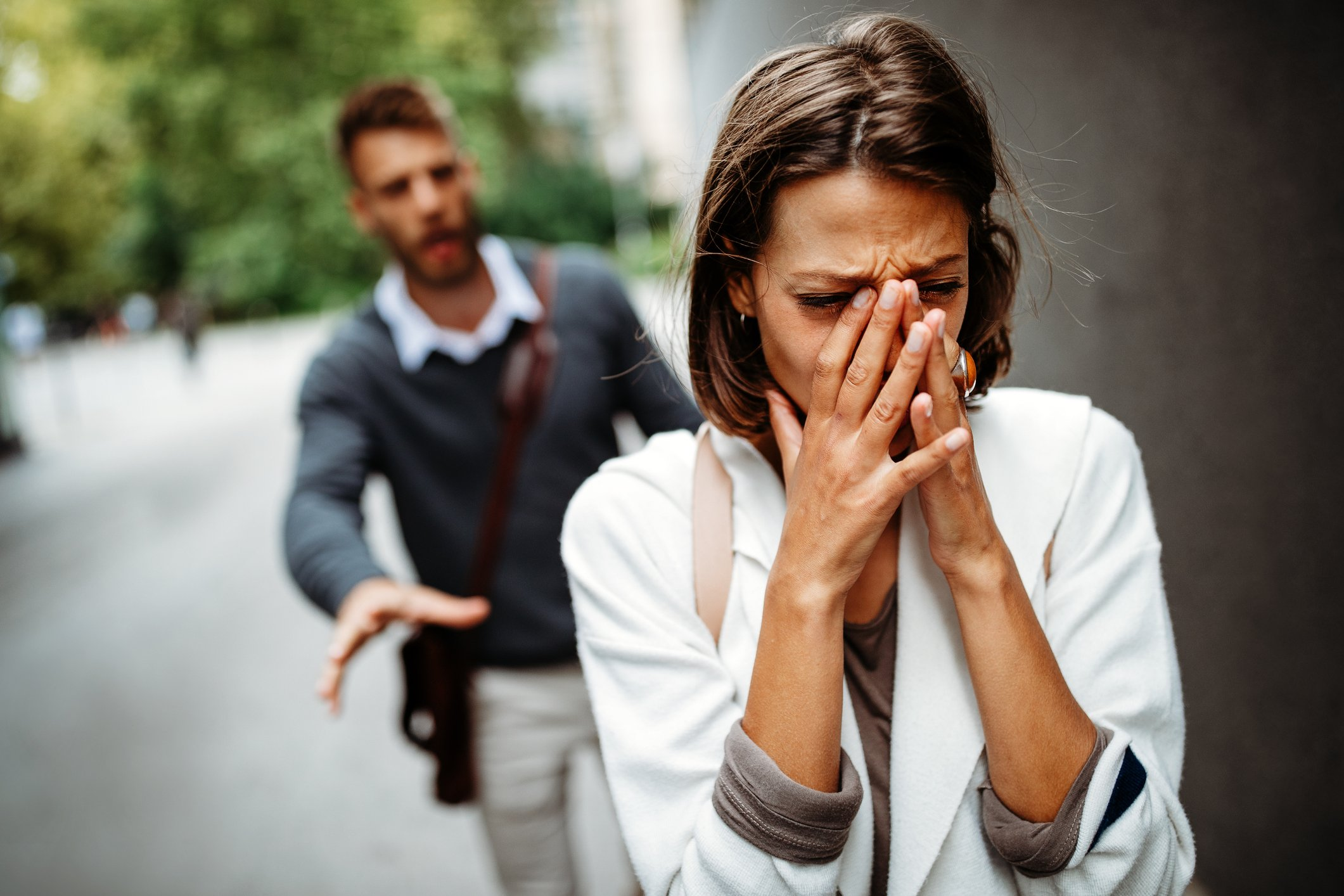 Couple break up over a miscommunication   Photo: Getty Images