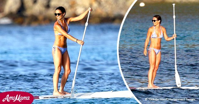 Pippa Middleton shows off stunning bikini body just 11 weeks after giving birth