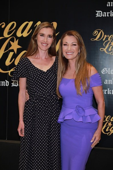 Katherine Flynn et Jane Seymour à l'hôtel VP Plaza España Design le 08 janvier 2020 à Madrid, Espagne. | Photo : Getty Images