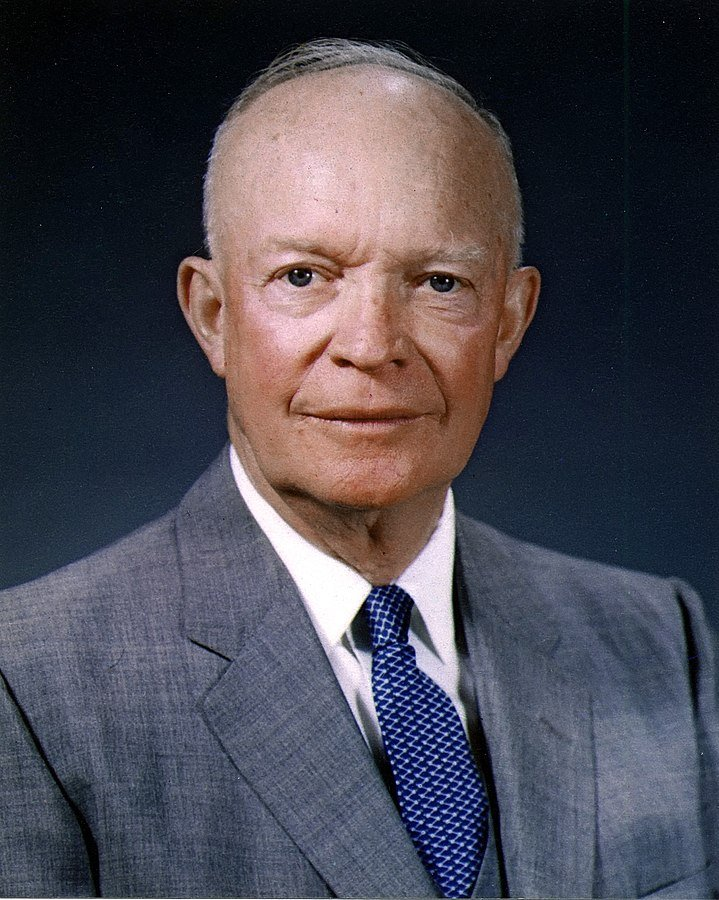 A photo portrait of Dwight D. Eisenhower on May 29, 1959 | Photo: White House, Public domain, via Wikimedia Commons