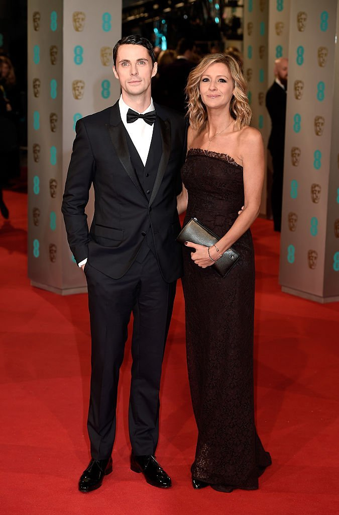 Matthew Goode and Sophie Dymoke attend the EE British Academy Film Awards at The Royal Opera House  | Getty Images