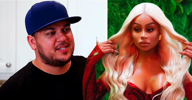 Rob Kardashian's Ex Blac Chyna Shares New Blonde Look in a Red Latex Outfit
