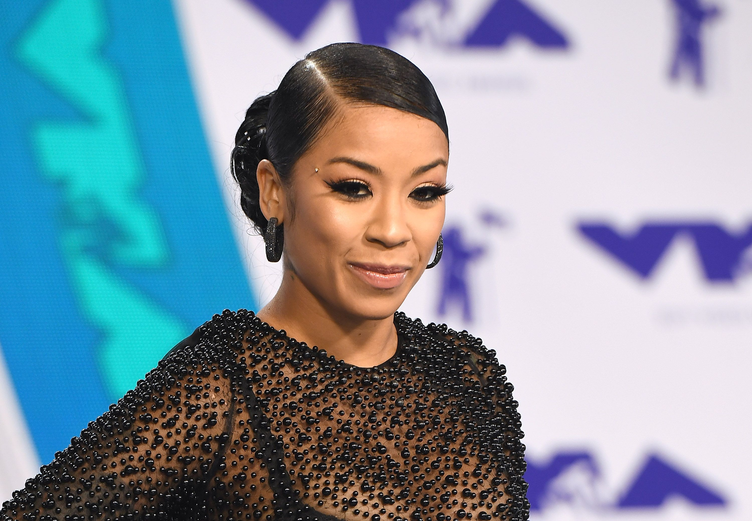 Keyshia Cole at the 2017 MTV Video Music Awards at The Forum on August 27, 2017   Photo: Getty Images