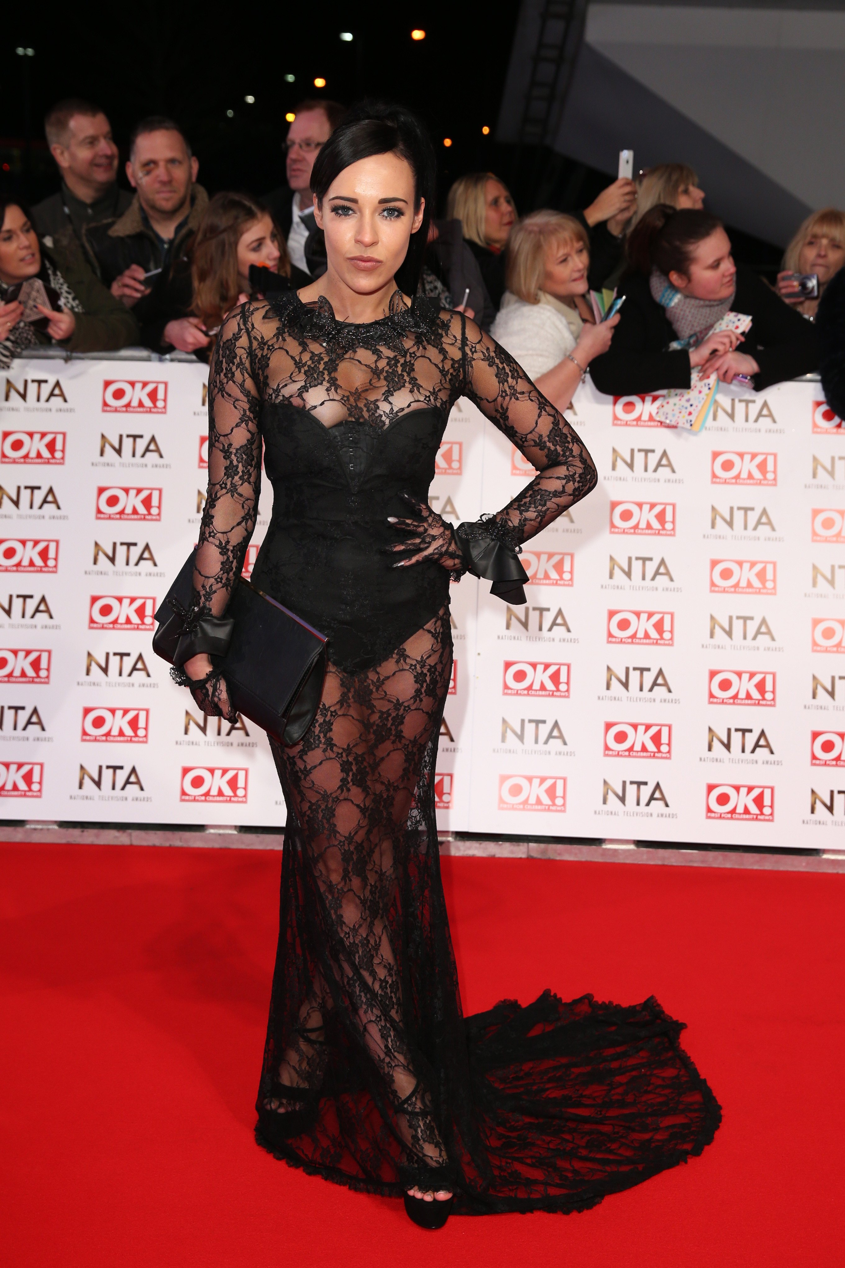 Stephanie Davis at the National Television Awards in London, 2015 | Photo: Getty Images