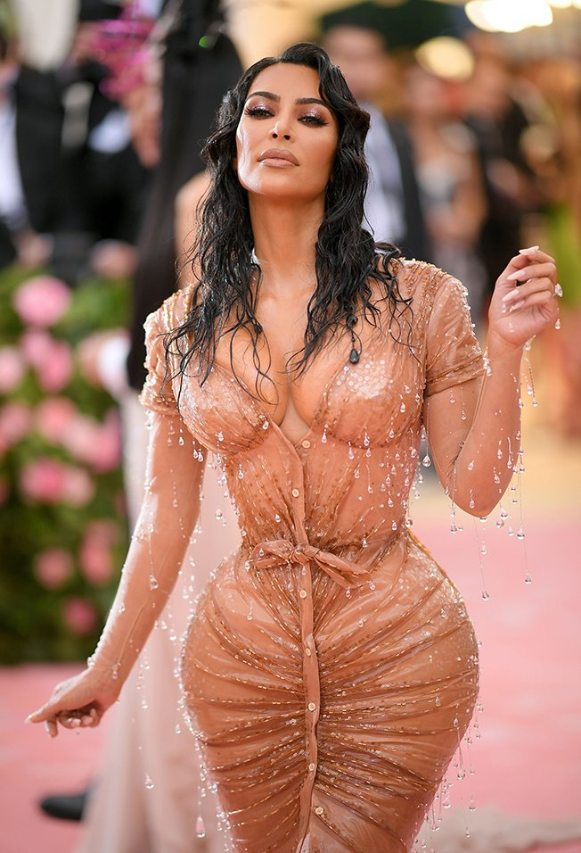 Kim Kardashian at the 2019 Met Gala in New York City | Photo: Getty Images