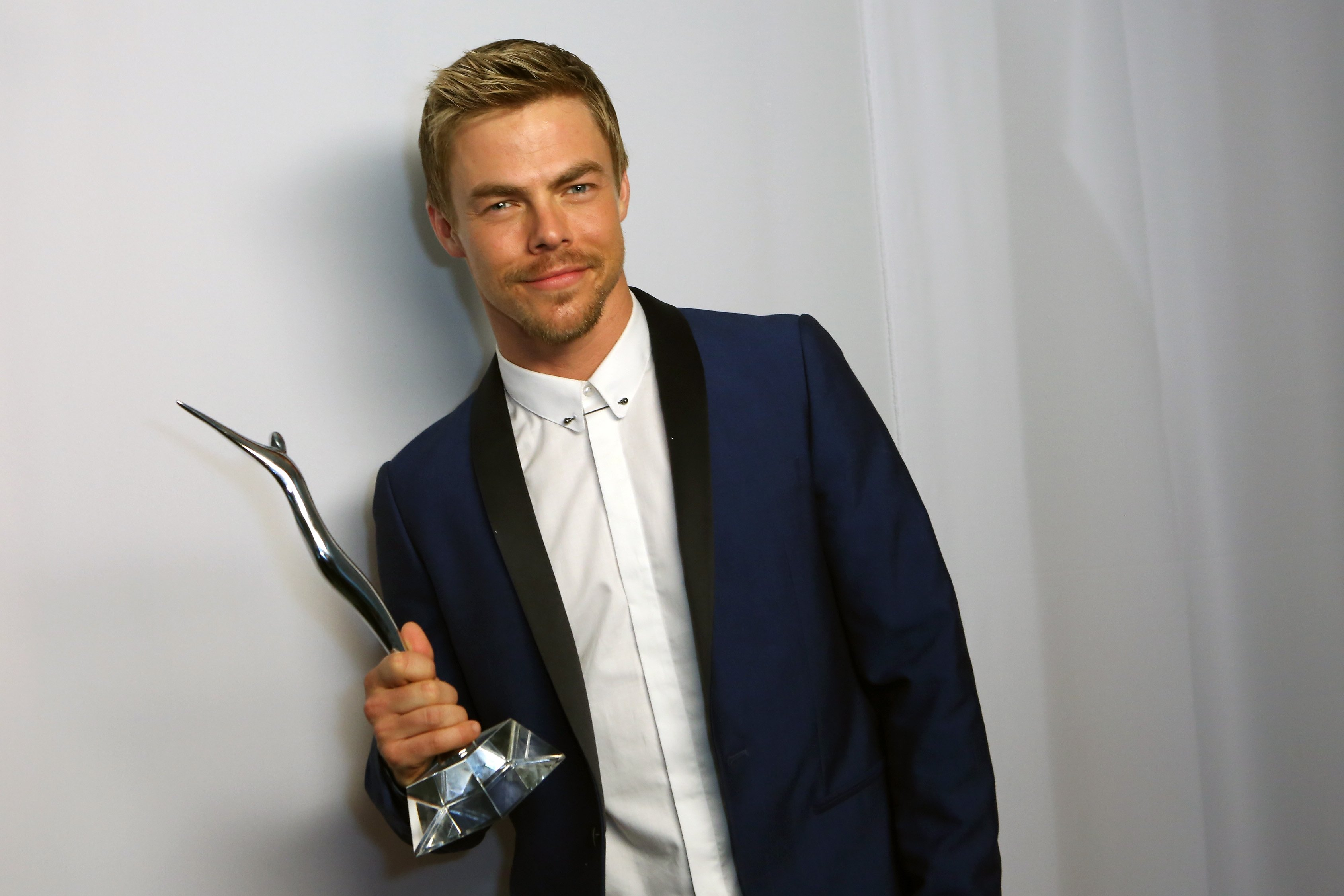 """""""DWTS"""" star Derek Hough attends the 2014 Young Hollywood Awards in Los Angeles, California. 