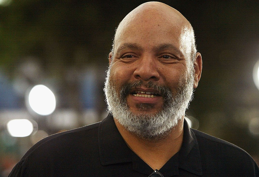 """Actor James Avery attends the world premiere of """"I, Robot"""" at the Mann Village Theatre July 7, 2004 