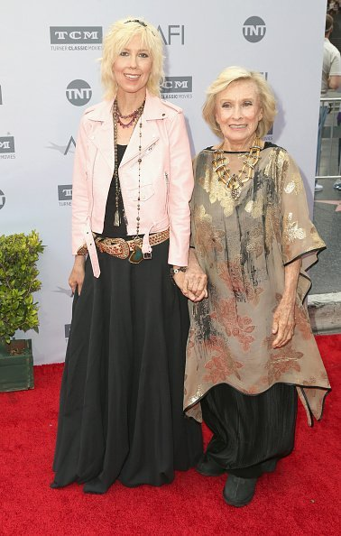 Dinah Englund and Cloris Leachman arrive at the American Film Institute's 44th Life Achievement Award Gala Tribute to John Williams at Dolby Theatre in Hollywood   Photo: Getty Images