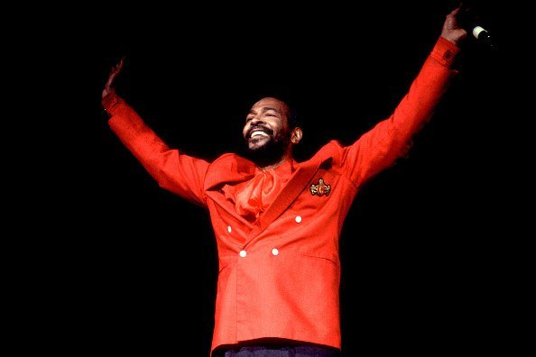 Marvin Gaye performs on stage at the Holiday Star Theater Indiana | Source: Getty Images