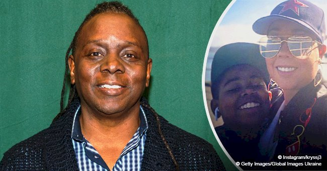 Remember 'Ew&F's Philip Bailey? His Son Jaylen Is All Grown Up & Hangs Out With His Mom Krystal