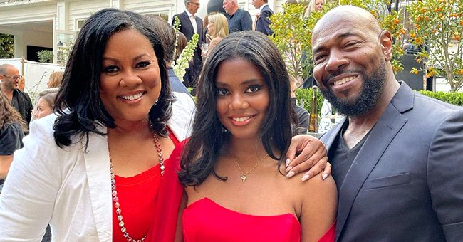 Lela Rochon's Daughter Asia Stuns Wearing the Same Red Dress Her Mom Wore on Prom Night