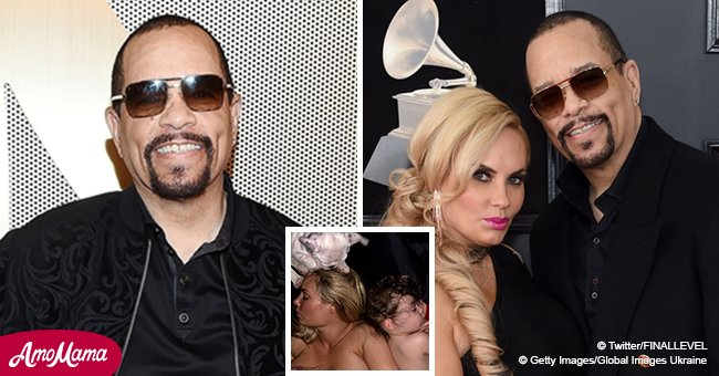 Ice-T shares topless photo of wife Coco sleeping next to their little daughter, fans are stunned