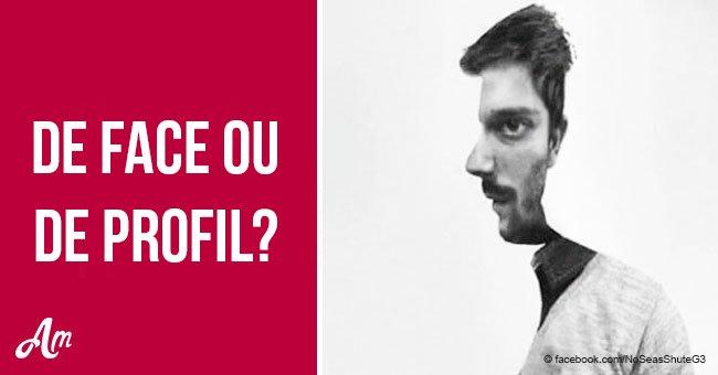 Est-ce que l'homme est de face ou de profil? La réponse révèle certains traits de votre personnalité