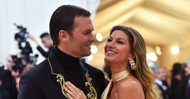 Tom Bradyand Gisele Bündchen at the Met Gala on May 7, 2018, at the Metropolitan Museum of Art in New York | Photo:Angela Weiss/AFP/Getty Images