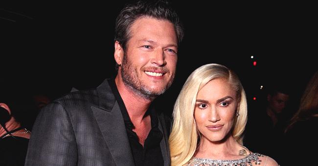 Gwen Stefani and Blake Shelton Show Cute PDA While Attending Luke Bryan's Concert