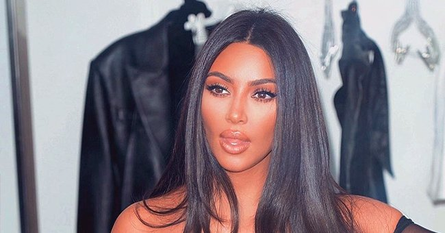Kim Kardashian's Daughter North Plays with Eiffel Tower Replica in Photo Taken at a Paris Hotel