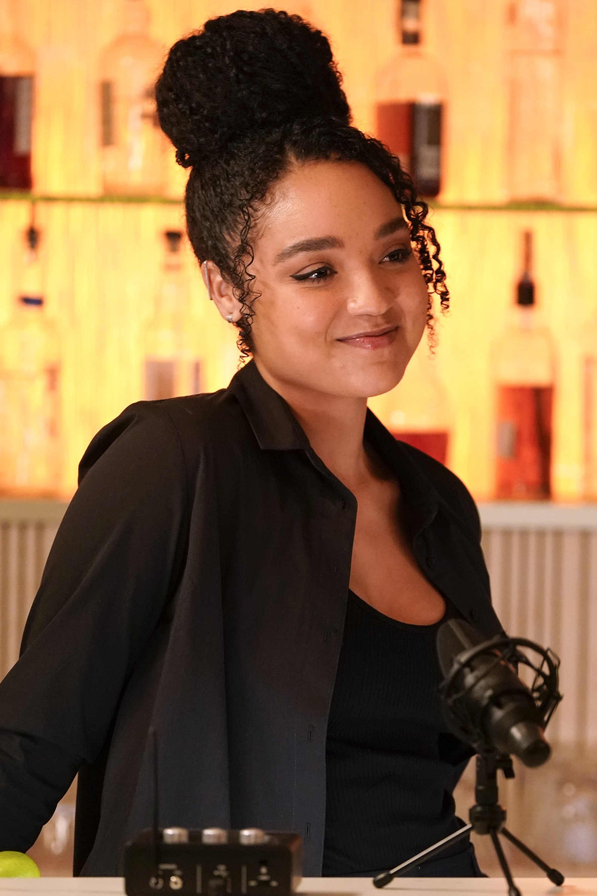 """Aisha Dee in an episode of """"The Bold Type"""" circa February 2020. 