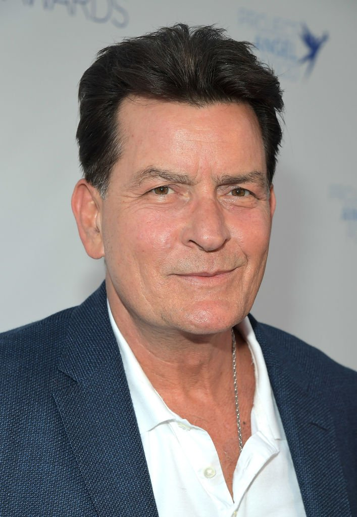 Charlie Sheen attends Project Angel Food's 2018 Angel Awards  | Getty Images