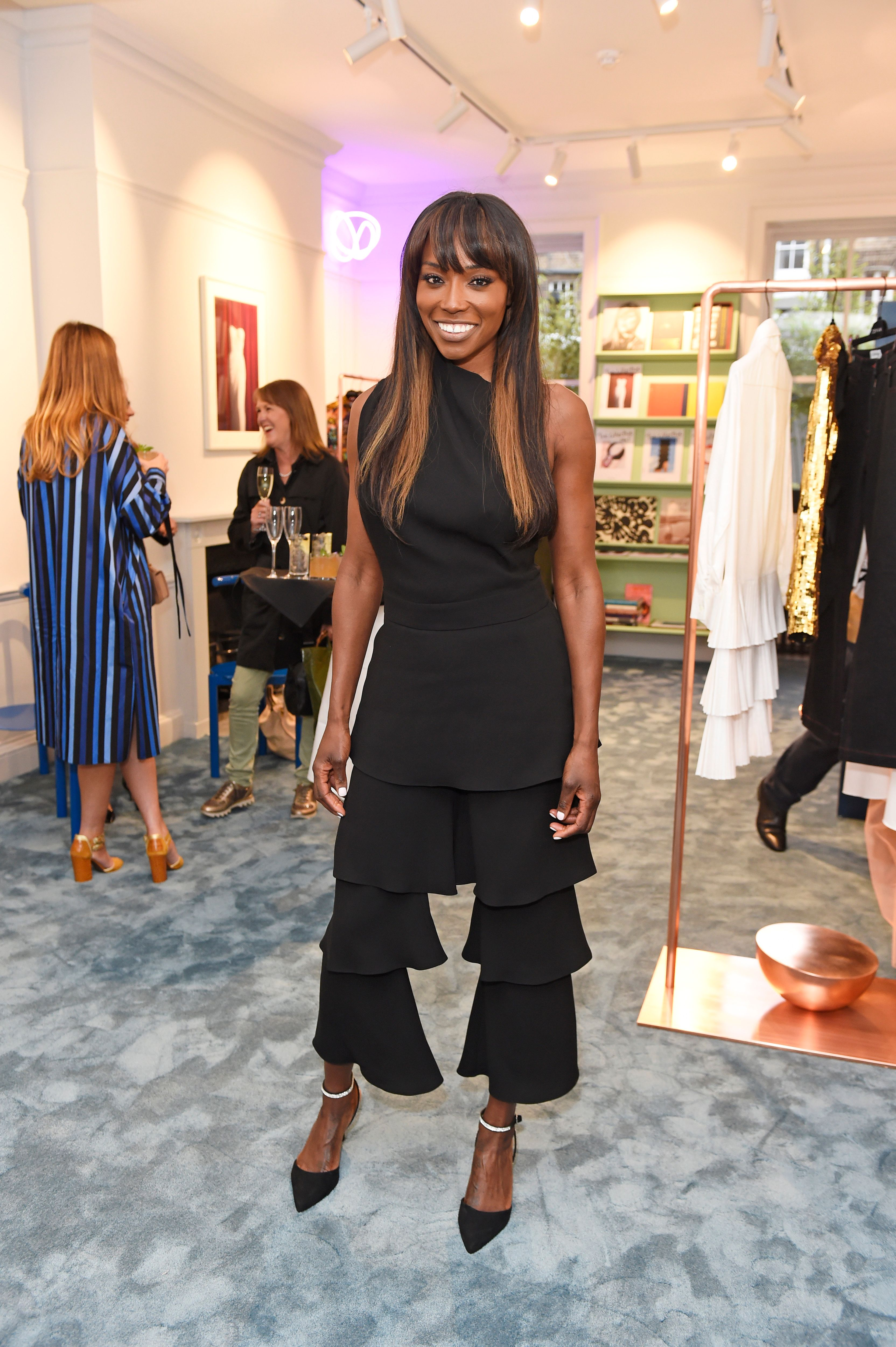 Lorraine Pascale at the House Of Osman launch party in 2018 in London, England | Source: Getty Images
