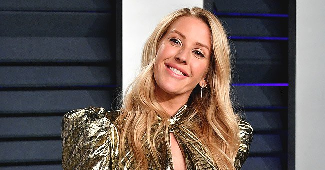 See Fan Reactions to Ellie Goulding's Gym Mirror Selfie Showing off Her Buff Figure